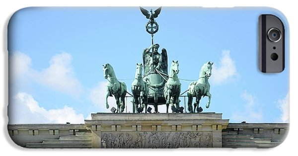Brandenburg Gate IPhone Case by Detlev Van Ravenswaay