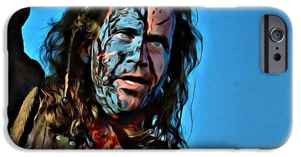 Braveheart IPhone Case by Florian Rodarte