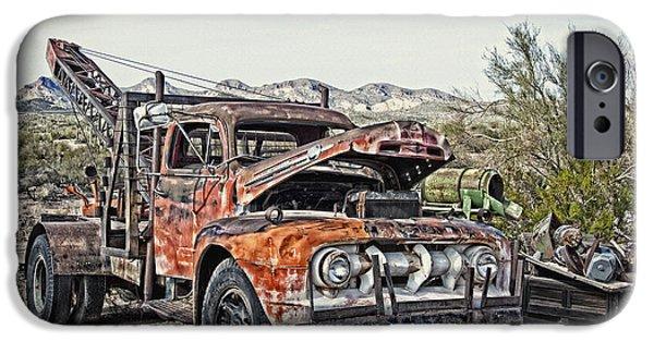 Breakdown Truck Break Down IPhone Case by Lee Craig
