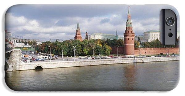 Bridge Across A River, Bolshoy Kamenny IPhone 6s Case by Panoramic Images