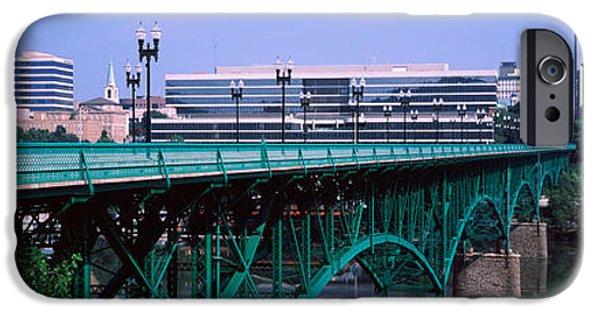 Bridge Across River, Gay Street Bridge IPhone Case by Panoramic Images