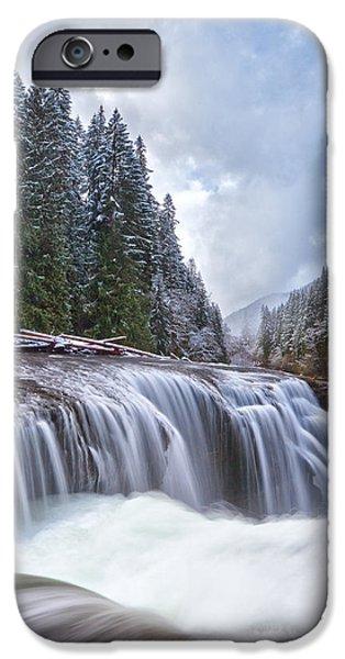 Brisk Winter Morning IPhone Case by Darren  White