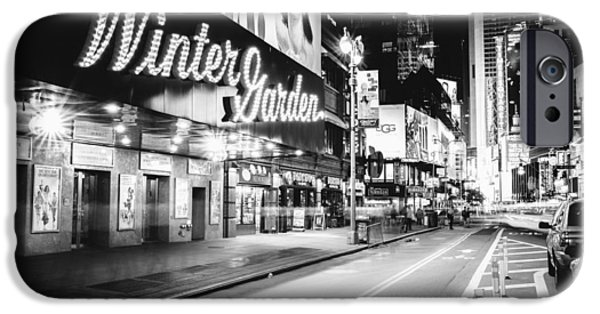 Broadway Theater - Night - New York City IPhone 6s Case by Vivienne Gucwa