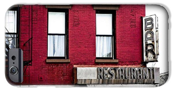 Brooklyn Bar IPhone Case by Diane Diederich