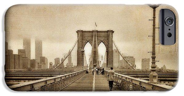 Brooklyn Memoirs IPhone Case by Joann Vitali
