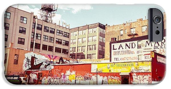 Brooklyn - New York City - Williamsburg IPhone Case by Vivienne Gucwa