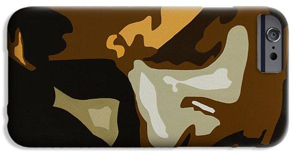 Bruce Springsteen IPhone Case by Dennis Nadeau