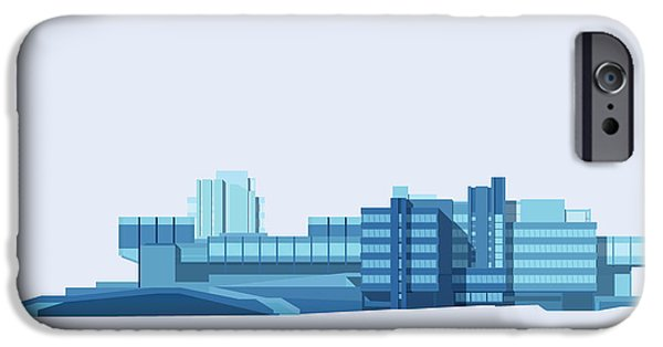 Brutalist Sphinx IPhone Case by Peter Cassidy