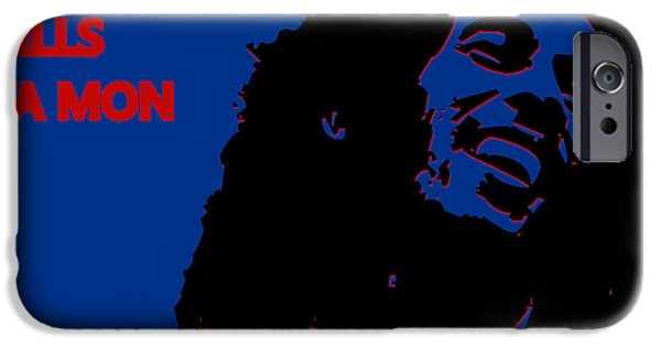 Buffalo Bills Ya Mon IPhone Case by Joe Hamilton