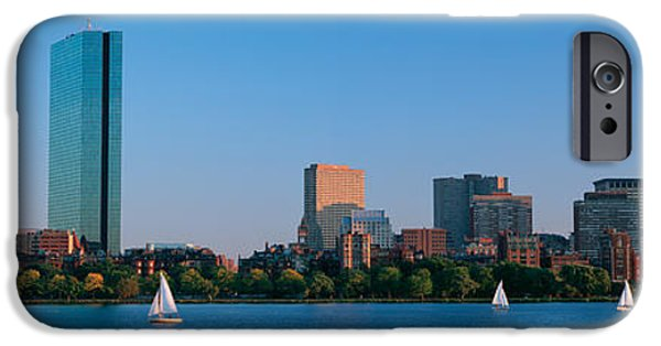 Buildings At The Waterfront, Back Bay IPhone Case by Panoramic Images