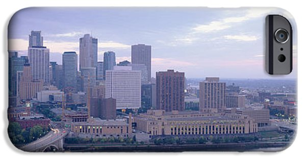 Buildings In A City, Minneapolis IPhone Case by Panoramic Images