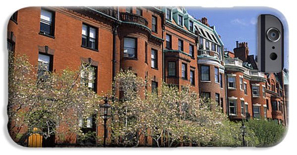 Buildings In A Street, Commonwealth IPhone Case by Panoramic Images