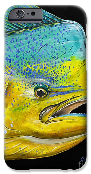 Bull Head Off0033 IPhone Case by Carey Chen