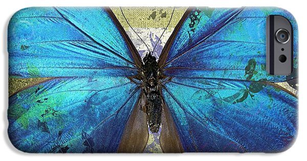 Butterfly Art - S01bfr02 IPhone Case by Variance Collections