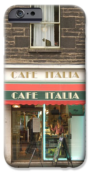 Cafe Italia IPhone Case by Mike McGlothlen