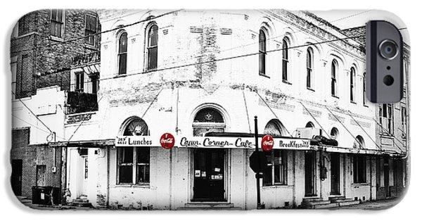 Cajun Corner Cafe IPhone Case by Scott Pellegrin