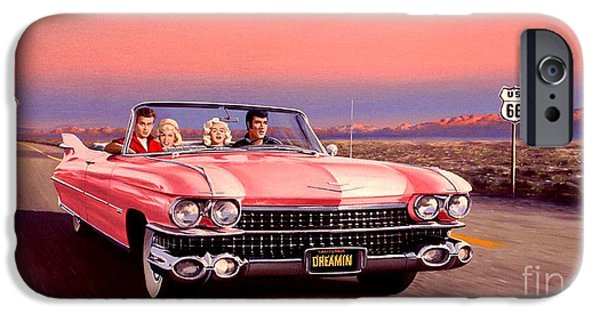 California Dreamin' IPhone Case by Michael Swanson