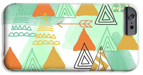 Camping IPhone 6s Case by Linda Woods