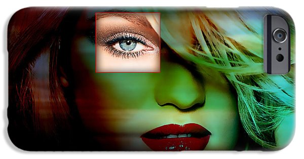 Candice Swanepoel Painting IPhone 6s Case by Marvin Blaine