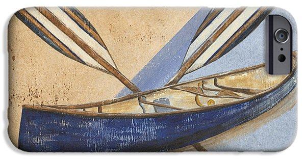 Canoe Rentals IPhone 6s Case by Debbie DeWitt