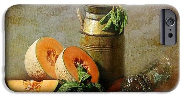 Cantaloupe IPhone Case by Diana Angstadt