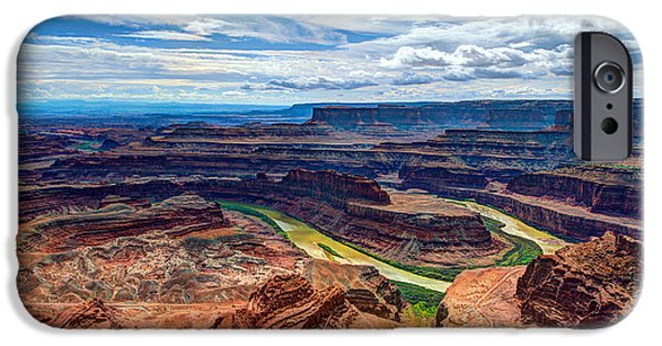 Canyon Country IPhone Case by Chad Dutson
