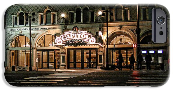Capitol Theatre IPhone Case by Ely Arsha
