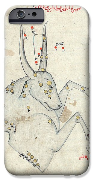 Capricornus Constellation IPhone Case by Library Of Congress