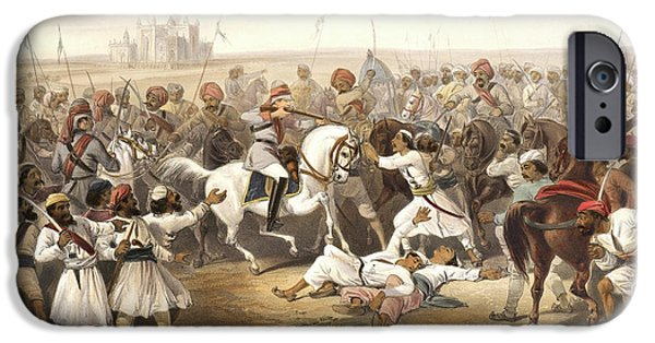 Capture And Death Of The Shahzadaghs IPhone Case by British Library