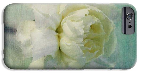 Carnation IPhone Case by Priska Wettstein
