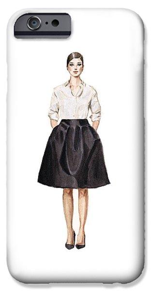 Carolina Herrera Classic Look IPhone 6s Case by Jazmin Angeles