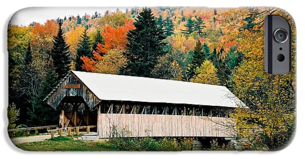 Carriage Road In Autumn IPhone Case by Lena Hatch
