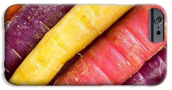 Carrot Rainbow IPhone 6s Case by Heidi Smith