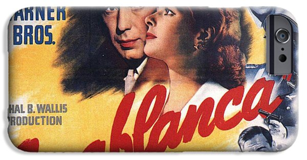Casablanca In Color IPhone Case by Nomad Art