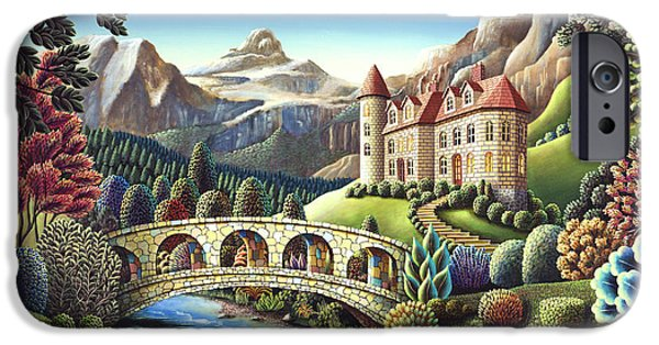 Castle Creek IPhone Case by Andy Russell