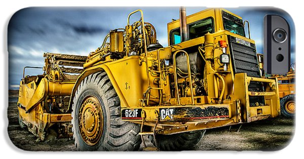 Caterpillar Cat 623f Scraper IPhone Case by YoPedro