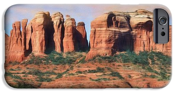 Cathedral Rock - Sedona IPhone Case by Lori Deiter