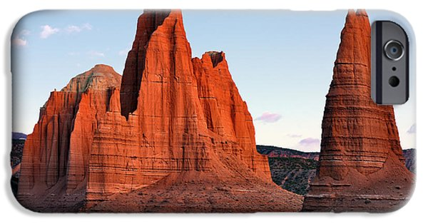 Cathedral Sunrise IPhone Case by Leland D Howard
