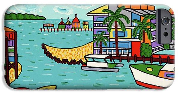 Cedar Cove Marina - Cedar Key IPhone Case by Mike Segal