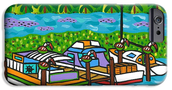 Cedar Key Bayou IPhone Case by Mike Segal
