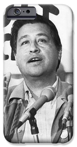 Cesar Chavez Announces Boycott IPhone 6s Case by Underwood Archives