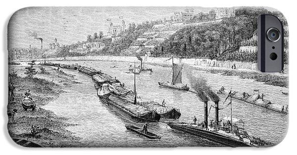Chain Boat And Barges IPhone Case by Bildagentur-online/tschanz