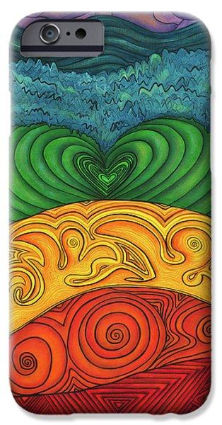 Chakra Ascension IPhone Case by Deborha Kerr