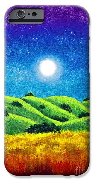 Chakra Landscape IPhone Case by Laura Iverson