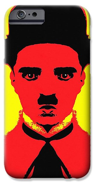Charles Chaplin Charlot Alias IPhone Case by Art Cinema Gallery