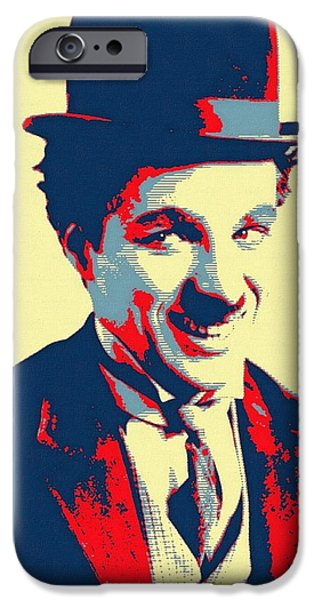 Charles Chaplin Charlot IPhone Case by Art Cinema Gallery