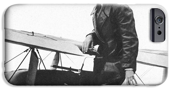 Charles Lindbergh IPhone Case by Unknown