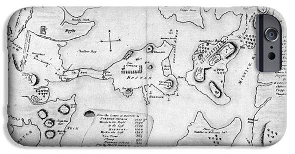 Charlestown, 1775 IPhone Case by Granger