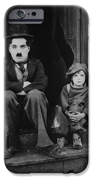 Charlie Chaplin 1921 IPhone Case by Mountain Dreams