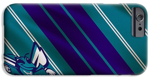 Charlotte Hornets Uniform IPhone Case by Joe Hamilton